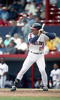 Cleveland Indians Jim Thome (25) during spring training circa 1993 at Chain of Lakes Park in Winter Haven, Florida.  (MJA/Four Seam Images)