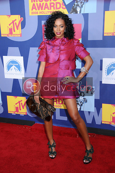 Solange Knowles<br />at the 2008 MTV Video Music Awards. Paramount Pictures Studios, Los Angeles, CA. 09-07-08<br />Dave Edwards/DailyCeleb.com 818-249-4998