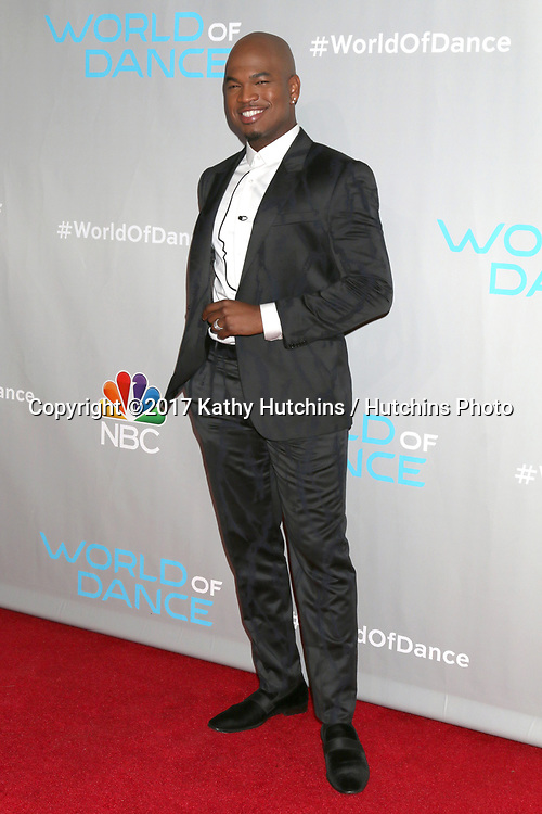 """LOS ANGELES - JAN 25:  Ne-Yo, aka Shaffer Chimere Smith at the """"World of Dance"""" Photo Call at Universal Studios on January 25, 2017 in Universal City, CA"""