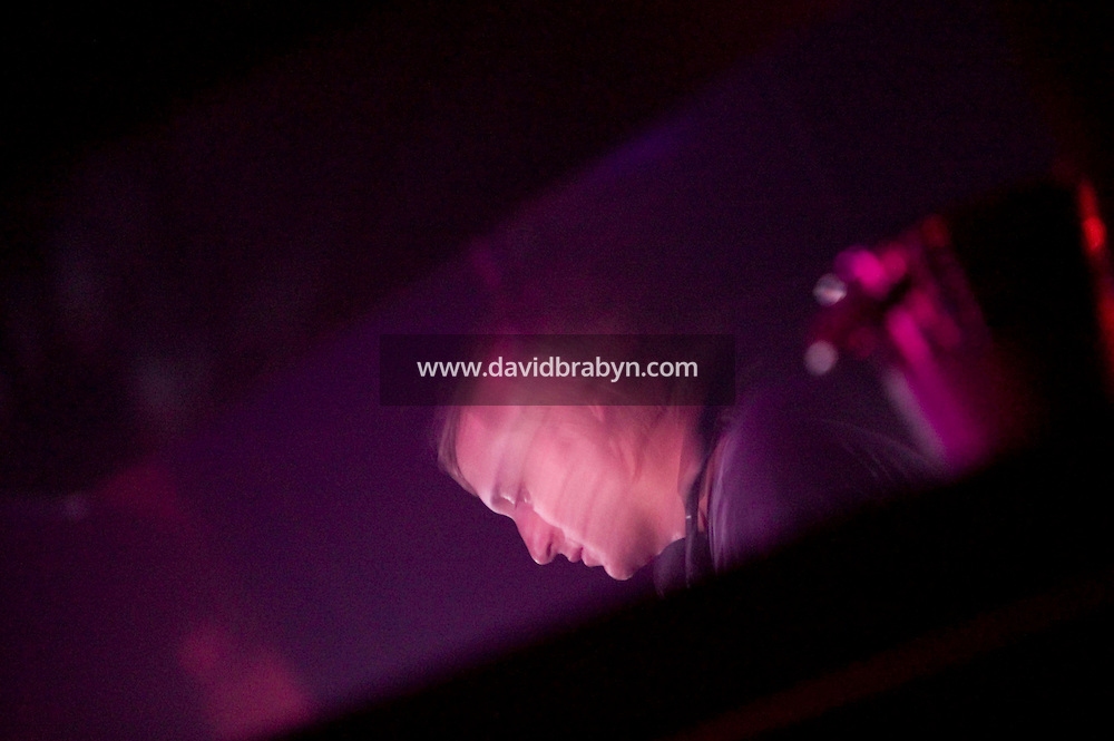 18 April 2006 - New York City, NY - French DJ David Guetta performs at the Pacha club in New York City, USA.