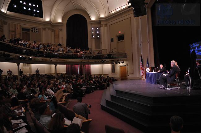 Naturalization ceremony at Washington Hall..Photo by Matt Cashore/University of Notre Dame