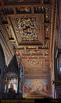 Baldachino Gilded Coffered Ceiling Michelangelo Daniel da Volterra Pirro Ligorio Papal Coats of Arms Ascension of Christ Cavaliere d'Arpino St John Lateran Rome