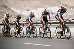AG2R La Mondial Team climbing during Stage 4 of 10th Tour of Oman 2019, running 131km from Yiti (Al Sifah) to Oman Convention and Exhibition Centre, Oman. 19th February 2019.<br /> Picture: ASO/P. Ballet | Cyclefile<br /> All photos usage must carry mandatory copyright credit (&copy; Cyclefile | ASO/P. Ballet)