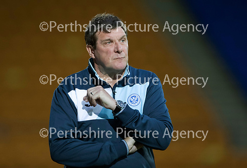 St Johnstone v FK Trakai&hellip;29.06.17  UEFA Europa League 1st Qualifying Round - 1st Leg  McDiarmid Park<br />Saints manager Tommy Wright<br />Picture by Graeme Hart.<br />Copyright Perthshire Picture Agency<br />Tel: 01738 623350  Mobile: 07990 594431