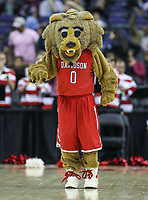 Washington, DC - March 10, 2018: Davidson Wildcats mascot during the Atlantic 10 semi final game between St. Bonaventure and Davidson at  Capital One Arena in Washington, DC.   (Photo by Elliott Brown/Media Images International)