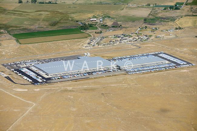 Walmart distribution center at Grantsville, Utah