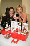 Lauren Wolk (left) and Lisa Goldfaden (right) present Goldfaden beauty products at The Plaza Hotel, during Fashion's Night Out 2011.