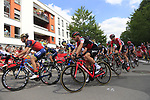 The start in Mondorf-les-Bains of Stage 4 of the 104th edition of the Tour de France 2017, running 207.5km from Mondorf-les-Bains, Luxembourg to Vittel, France. 4th July 2017.<br /> Picture: Eoin Clarke | Cyclefile<br /> <br /> <br /> All photos usage must carry mandatory copyright credit (&copy; Cyclefile | Eoin Clarke)