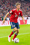 06.10.2018, Allianz Arena, Muenchen, GER, 1.FBL,  FC Bayern Muenchen vs. Borussia Moenchengladbach, DFL regulations prohibit any use of photographs as image sequences and/or quasi-video, im Bild Thomas M&uuml;ller (FCB #25) <br /> <br />  Foto &copy; nordphoto / Straubmeier