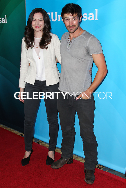 PASADENA, CA, USA - APRIL 08: Jill Flint, Eoin Macken at the NBCUniversal Summer Press Day 2014 held at The Langham Huntington Hotel and Spa on April 8, 2014 in Pasadena, California, United States. (Photo by Xavier Collin/Celebrity Monitor)