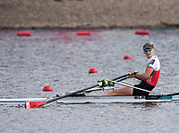 Glasgow, Scotland, Sunday, 5th  August 2018, Final Lightweight women's Single Sculls, Gold Medalist, BLR LW1X, Alena  FURMAN, European Games, Rowing, Strathclyde Park, North Lanarkshire, © Peter SPURRIER/Alamy Live News