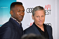LOS ANGELES, CA. November 09, 2018: Viggo Mortensen &amp; Mahershala Ali at the AFI Fest 2018 world premiere of &quot;Green Book&quot; at the TCL Chinese Theatre.<br /> Picture: Paul Smith/Featureflash