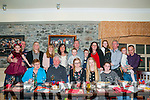 40th Wedding Anniversary: Mary & Tom White, Tarbert, left front celebrating their 40th wedding anniversary with family & friends at Behan's Horseshoe Bar, Listowel on Saturady night last.