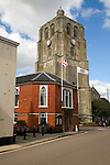 Tower and town guildhall, Beccles, Suffolk, England