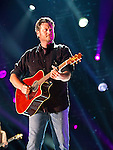 Blake Shelton performs at LP Field during Day 2 of the 2013 CMA Music Festival in Nashville, Tennessee.