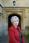 Gaynor Arnold, author, at Corpus Christi during the FT Weekend Oxford Literary Festival, Oxford, UK. Saturday 29 March 2014.<br /> <br /> PHOTO COPYRIGHT Graham Harrison<br /> graham@grahamharrison.com<br /> <br /> Moral rights asserted.