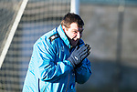 St Johnstone Training&hellip;28.12.18    McDiarmid Park<br />Manager Tommy Wright pictured during training this morning ahead of tomorrow&rsquo;s game at Dundee.<br />Picture by Graeme Hart.<br />Copyright Perthshire Picture Agency<br />Tel: 01738 623350  Mobile: 07990 594431