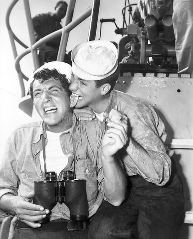 Dean Martin &amp; Jerry Lewis of Martin &amp; Lewis  <br /> in Sailor Beware<br /> *Filmstill - Editorial Use Only*<br /> CAP/PLF<br /> Supplied by Capital Pictures /MediaPunch ***NORTH AND SOUTH AMERICAS ONLY***