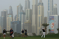 Shane Lowry (IRL) during the first round of the Omega Dubai Desert Classic, Emirates Golf Club, Dubai, UAE. 24/01/2019<br /> Picture: Golffile | Phil Inglis<br /> <br /> <br /> All photo usage must carry mandatory copyright credit (&copy; Golffile | Phil Inglis)