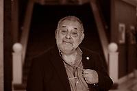Edoardo Boncinelli. è il più importante genetista italiano e insegna alla facoltà di Filosofia dell'Università Vita-Salute San Raffaele di Milano. Pordenone, 15 settembre 2017. © Leonardo Cendamo