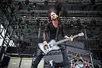 Matt DiRito of Pop Evil performs during the 2013 Rock On The Range festival at Columbus Crew Stadium in Columbus, Ohio.