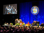 Swearing-in ceremony at the second inauguration of Governor Paul R. LePage, Augusta Civic Center, Augusta, Maine, USA, January 7, 2015.