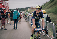 Jens Keukeleire (BEL/Orica-Scott) rolling in after the stage<br /> <br /> 104th Tour de France 2017<br /> Stage 8 - Dole &rsaquo; Station des Rousses (187km)