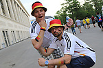 17th June 2018, Luzhniki Stadium, Moscow, Russia; FIFA World Cup Football, Group F, Germany versus Mexico; Fans; from Germany