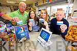 The launch of Cash back on your shopping  the Lioness Cashback Loyalty Programme at Oaklands Daybreak, Oakpark on Friday Pictured  Jim O'Donoghue, Grainne Maunsell, Lisa O'Donoghue and Jackie Locke