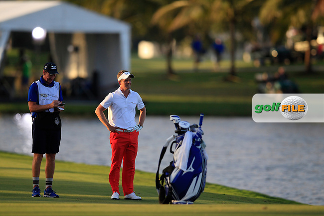 Luke Donald (ENG) during the 2nd round at the WGC Cadillac Championship, Blue Monster, Trump National Doral, Doral, Florida, USA<br /> Picture: Fran Caffrey / Golffile