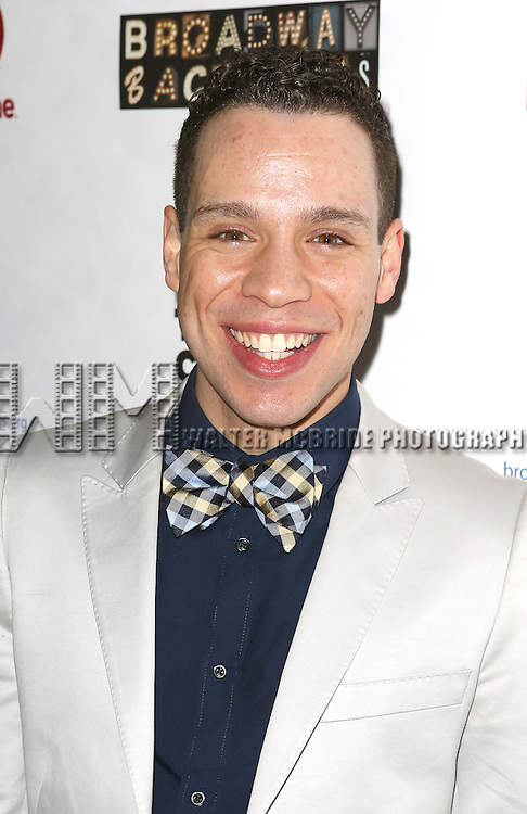 "Robin de Jesus attends the ""Broadway Backwards"" After Party Reception  at John's Restaurant on March 24, 2014 in New York City."