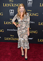 "LOS ANGELES, USA. July 10, 2019: Anneliese van der Pol at the world premiere of Disney's ""The Lion King"" at the Dolby Theatre.<br /> Picture: Paul Smith/Featureflash"