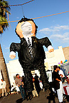 AJ Alexander/AJAimages 050508- Sheriff Joe Arpaio Pinata ready to be smacked at PUEBLO'S Grand Opening of there new office building in Phoenix, Arizona..Photo by AJ Alexander