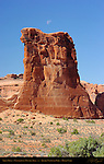Sheep Rock, Courthouse Towers Area, Arches National Park, Moab, Utah