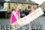 The Rose of Tralee Elysha Brennan and Fiona Cotter launch the  Kirby's Brogue Inn's sponsorship of the Roses Welcome Event