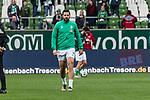 02.11.2019, wohninvest WESERSTADION, Bremen, GER, 1.FBL, Werder Bremen vs SC Freiburg<br /> <br /> DFL REGULATIONS PROHIBIT ANY USE OF PHOTOGRAPHS AS IMAGE SEQUENCES AND/OR QUASI-VIDEO.<br /> <br /> im Bild / picture shows<br /> Claudio Pizarro (Werder Bremen #14) beim Aufwärmen, <br /> <br /> Foto © nordphoto / Ewert