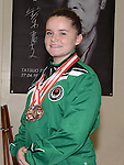 Keeva Byrne triple bronze medal winner. Photo:Colin Bell/pressphotos.ie