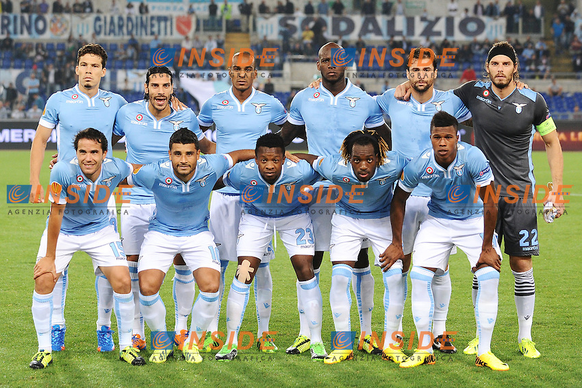 Lazio team Line up <br /> Formazione <br /> Roma 19-09-2013 Stadio Olimpico<br /> Football Calcio 2013/2014 Europa League Group Stage <br /> Lazio - Legia Warszawa<br /> Foto Andrea Staccioli Insidefoto