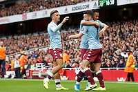 GOAL - John McGinn of Aston Villa scores during the Premier League match between Arsenal and Aston Villa at the Emirates Stadium, London, England on 22 September 2019. Photo by Carlton Myrie / PRiME Media Images.
