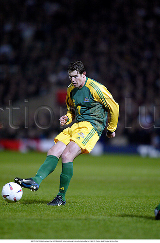 BRETT EMERTON, England 1 v AUSTRALIA 3, International Friendly Upton Park, 030212. Photo: Neil Tingle/Action Plus...2003.football association soccer.internationals friendlies.socceroos