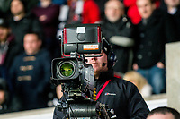 TV camera <br /> Re: Behind the Scenes Photographs at the Liberty Stadium ahead of and during the Premier League match between Swansea City and Bournemouth at the Liberty Stadium, Swansea, Wales, UK. Saturday 25 November 2017