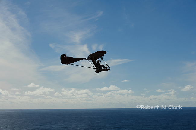 Unknown manned glider at the Torrey Pines Glider Port