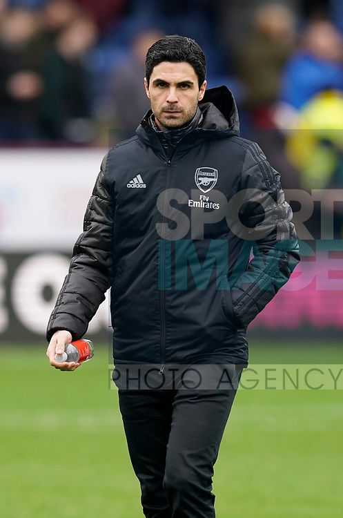 Mikel Arteta manager of Arsenal during the Premier League match at Turf Moor, Burnley. Picture date: 2nd February 2020. Picture credit should read: Andrew Yates/Sportimage