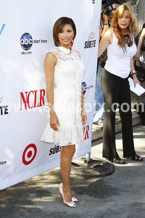 **ALL ROUND PICTURES FROM SOLARPIX.COM**.**SYNDICATION RIGHTS FOR UK, SPAIN, PORTUGAL, AUSTRALIA, S.AFRICA & DUBAI (U.A.E) ONLY**.The actress Eva Longoria Parker attends 2008 ALMA Awards .Nominees Announcment at  Wisteria Lane in the Universal Studios Back Lot at Hollywood California in the USA..This pic:Eva Longoria Parker..JOB REF:6893-PHZ    DATE:21_07_08 .**MUST CREDIT SOLARPIX.COM OR DOUBLE FEE WILL BE CHARGED* *UNDER NO CIRCUMSTANCES IS THIS IMAGE TO BE REPRODUCED FOR ANY ONLINE EDITION WITHOUT PRIOR PERMISSION*