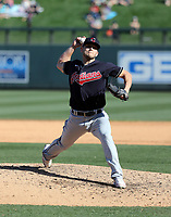 Cam Hill - Cleveland Indians 2020 spring training (Bill Mitchell)