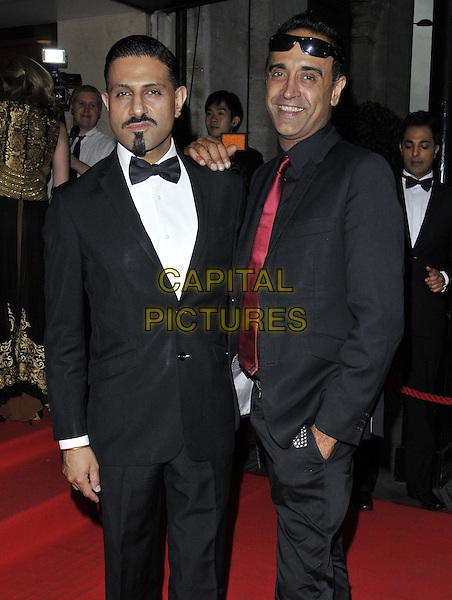 LONDON, ENGLAND - SEPTEMBER 19: Raj &amp; Pablo attend the Asian Achievers Awards 2014, Grosvenor House Hotel, Park Lane, on Friday September 19, 2014 in London, England, UK. <br /> CAP/CAN<br /> &copy;Can Nguyen/Capital Pictures