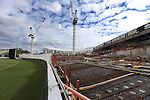Construction of the new stand at the Sydney Cricket Ground (SCG) .  Sydney, Australia. Sunday, February 17th  2013. (Photo: Steve Christo).
