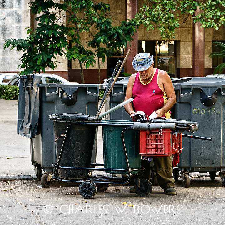 Faces Of Cuba - One person's trash is another's treasure<br /> <br /> -Limited Edition of 50 prints.