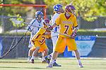 Rancho Santa Margarita, CA 04/30/10 - Trent Cady (Torrey Pines #7) in action during the Rancho Santa Margarita CHS-Torrey Pines boys varsity lacrosse game.