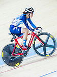 Yang Qianyu of Hong Kong competes in the Women's Points Race 25 km Final during the 2017 UCI Track Cycling World Championships on 16 April 2017, in Hong Kong Velodrome, Hong Kong, China. Photo by Chris Wong / Power Sport Images